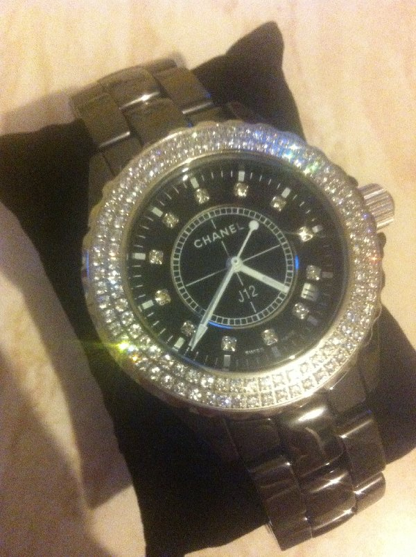 Ladies Chanel Black Ceramic Watch Offer South Ayrshire