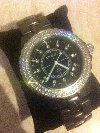 ** Ladies Chanel Black Ceramic Watch ** offer Jewellery