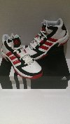 adidas leather tip off basketball mid trainers. new, boxed offer Footwear & Shoes