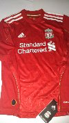 adidas boys liverpool top. new with tags. offer childrens clothes