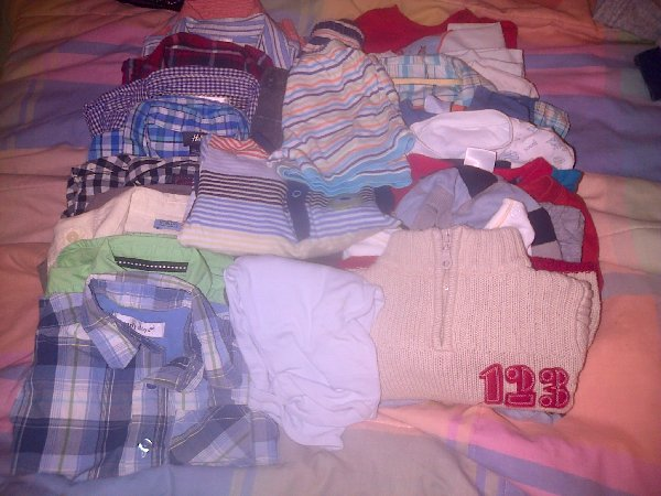 Loads Of Baby Boys Clothes Picture