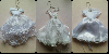 Wedding Favour Mini Wedding Dresses from £1.80 offer Accessories