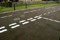 RoadMarkings Glasgow Picture